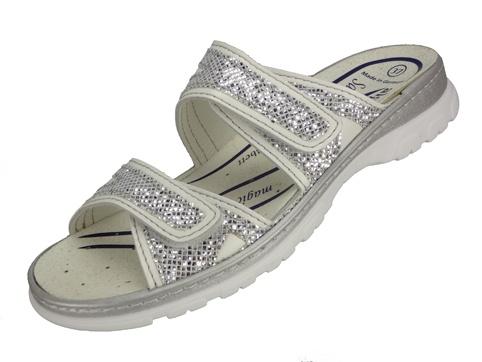 6723 - 1011 weiß Nappino - Silver